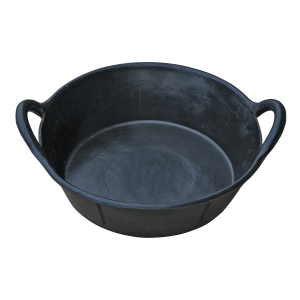 3 Gallon Rubber Pan with Handles