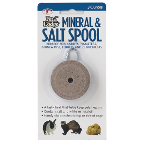 Mineral and Salt Spool with Hanger