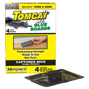Tomcat Mouse Glue Board - 4 Pack