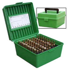 R-100 Series Deluxe Ammo Box - 100 Round