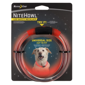 NiteHowl LED Safety Necklace for Dogs