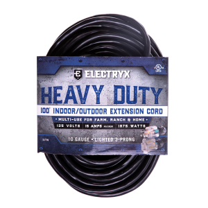 10 Gauge Heavy Duty Indoor/Outdoor Extension Cord