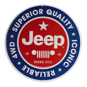 Jeep Superior Quality Metal Sign