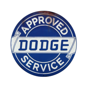 Dodge Service Metal Sign