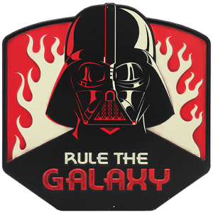 Rule The Galaxy Star Wars Metal Sign