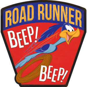 Road Runer Metal Sign