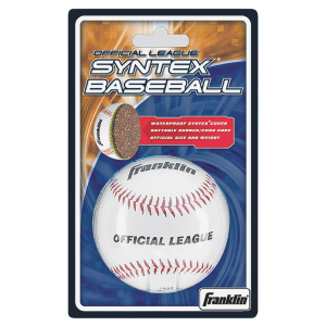 Official League Syntex Baseball with Rubber Core