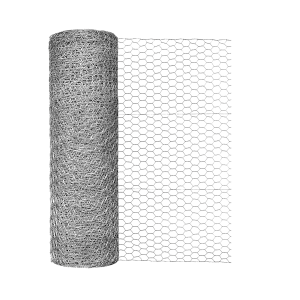 "24"" Galvanized Hex Netting with 1"" Opening"