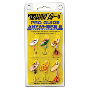 Pro Guide Anywhere 6 Deadly 6-Pack Spinners for Trout