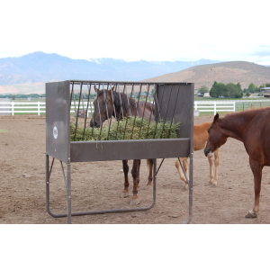 5-Foot V-Rack Horse Feeder