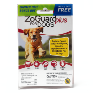 ZoGuard Plus for Dogs (45-88 lbs) - Bonus Pack