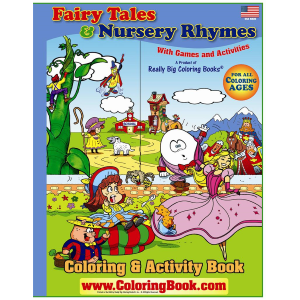 "Fairy Tales & Nursery Rhymes 17"" x 23"""
