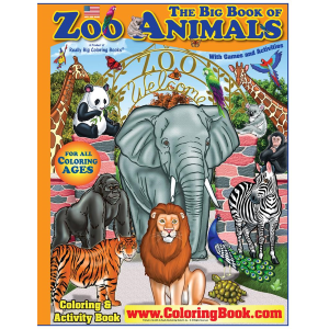 "Zoo Animals 17"" x 23"""