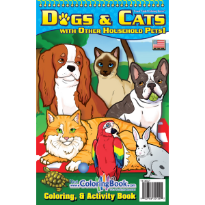 "Travel Tablet Dogs & Cats 5.5"" x 8.5"""