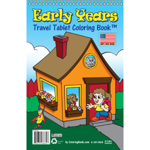 "Travel Tablet Early Years 5.5"" x 8.5"""