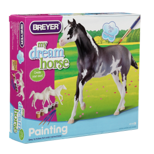 My Dream Horse - Paint Your Own Horse Activity Kit-Arabian and Thoroughbred