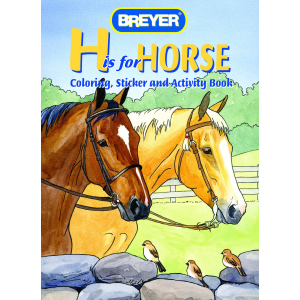 """H"" is for Horse - Coloring, Sticker and Activity Book"