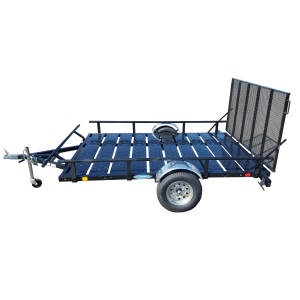 6' x 10' Utility Trailer With Ramp