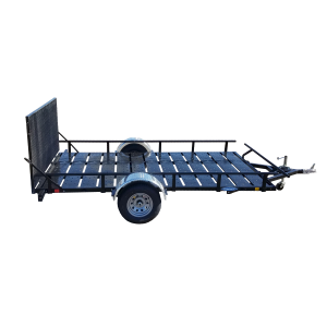 6' x 13' Rear Load Utility Trailer