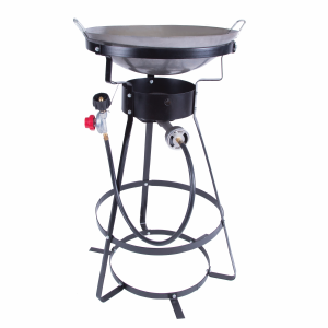 One Burner Outdoor Stove with Wok