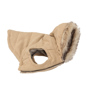 Faux Fur Lined Dog Coat