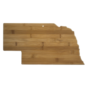 Nebraska Cutting Board