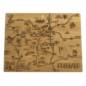 Destination Colorado Cutting Board