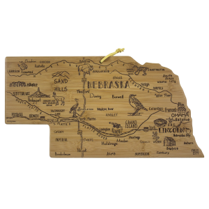 Destination Nebraska Cutting Board