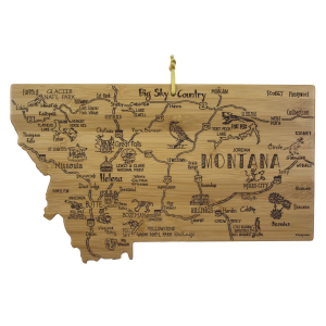 Destination Montana Cutting Board
