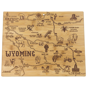 Destination Wyoming Cutting Board