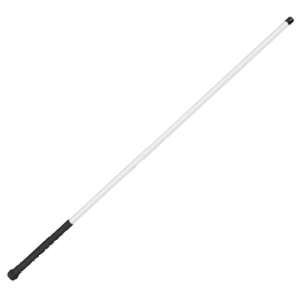 "30"" White Hog Sorting Pole with Grip Handle"