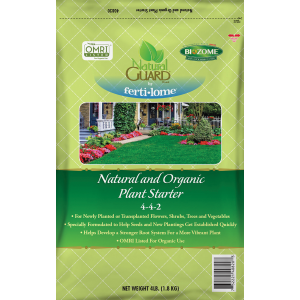 Natural and Organic Plant Starter