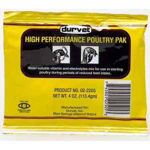 High Performance Poultry Pak w/Vitamins and Electrolytes