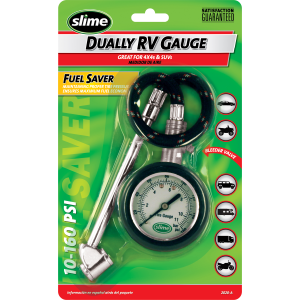 10-160 PSI Dually RV Tire Gauge