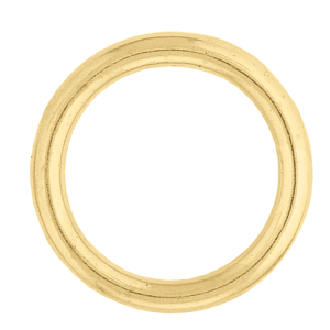#3 O Ring - Solid Brass