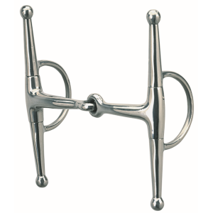Full Cheek Eggbutt Snaffle Bit - 5""