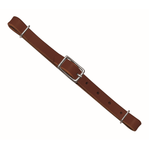 Straight Bridle Leather Curb Strap