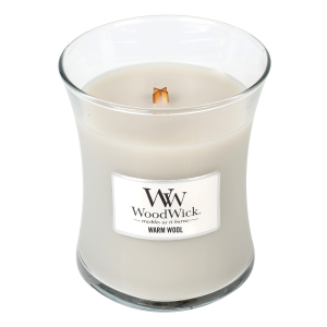 Warm Wool Medium Hourglass Candle