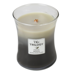 Warm Woods Trilogy Medium Hourglass Candle