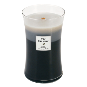 Warm Woods Large Hourglass Trilogy Candle