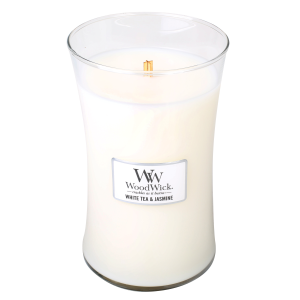 White Tea & Jasmine Large Hourglass Candle