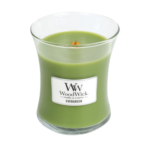 Evergreen Medium Hourglass Candle