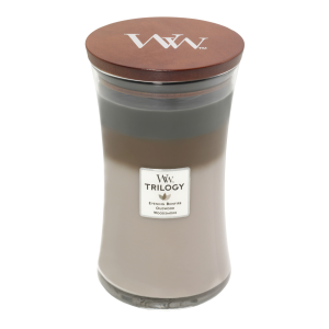 Cozy Cabin Trilogy Large Hourglass Candle