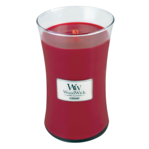 Currant Large Hourglass Candle