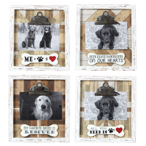 Wood Pet 4x6 Picture Clip - Assorted