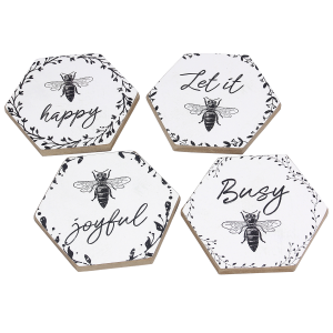 Bee Coaster Set