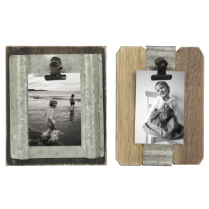 Wood/Tin 2x3 Picture Clip - Assorted