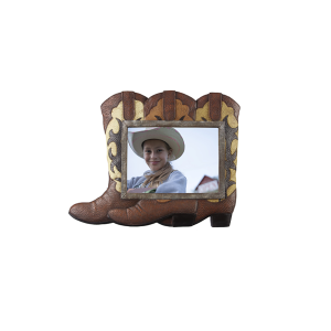 5x7 Cowboy Boot Photo Frame
